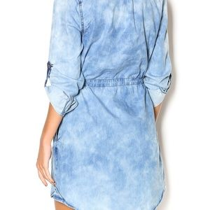 7 for all Mankind Dresses - 7 For All Mankind Button Down Drawstring Dress